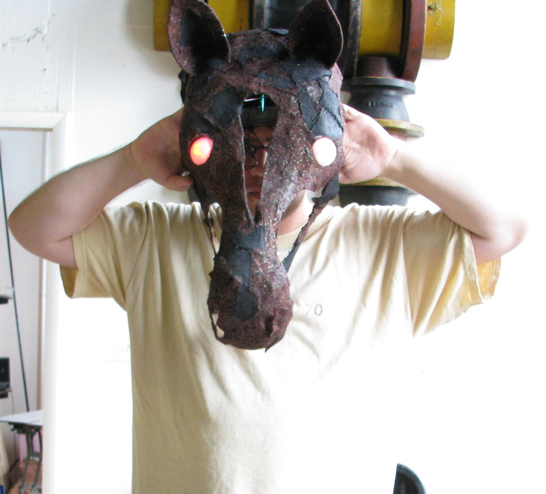 3D Horse head on Paul