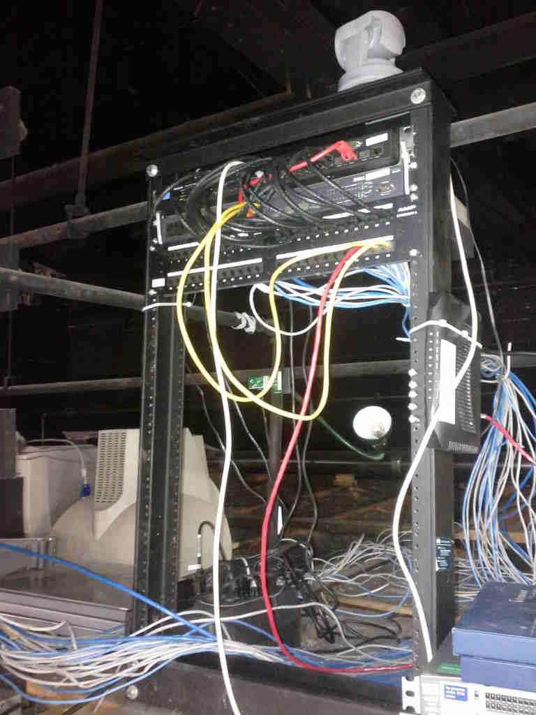 Network/Server Rack - Hive13 Wiki