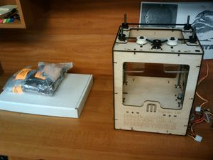 MakerBot Day 1 Progress.jpg